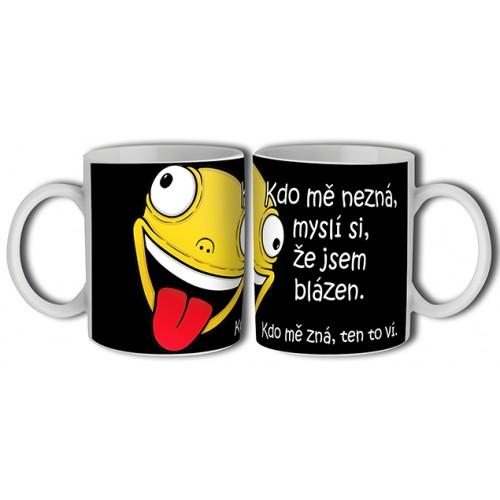 Hrnek - Kdo mě nezná, ... (B116CZ) na lawli.cz