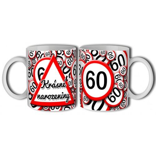 Hrnek - Krásné narozeniny 60 (B131CZ) na lawli.cz