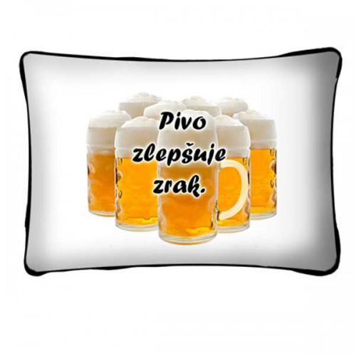 Polštář - Pivo zlepšuje zrak (P034CZ) na lawli.cz